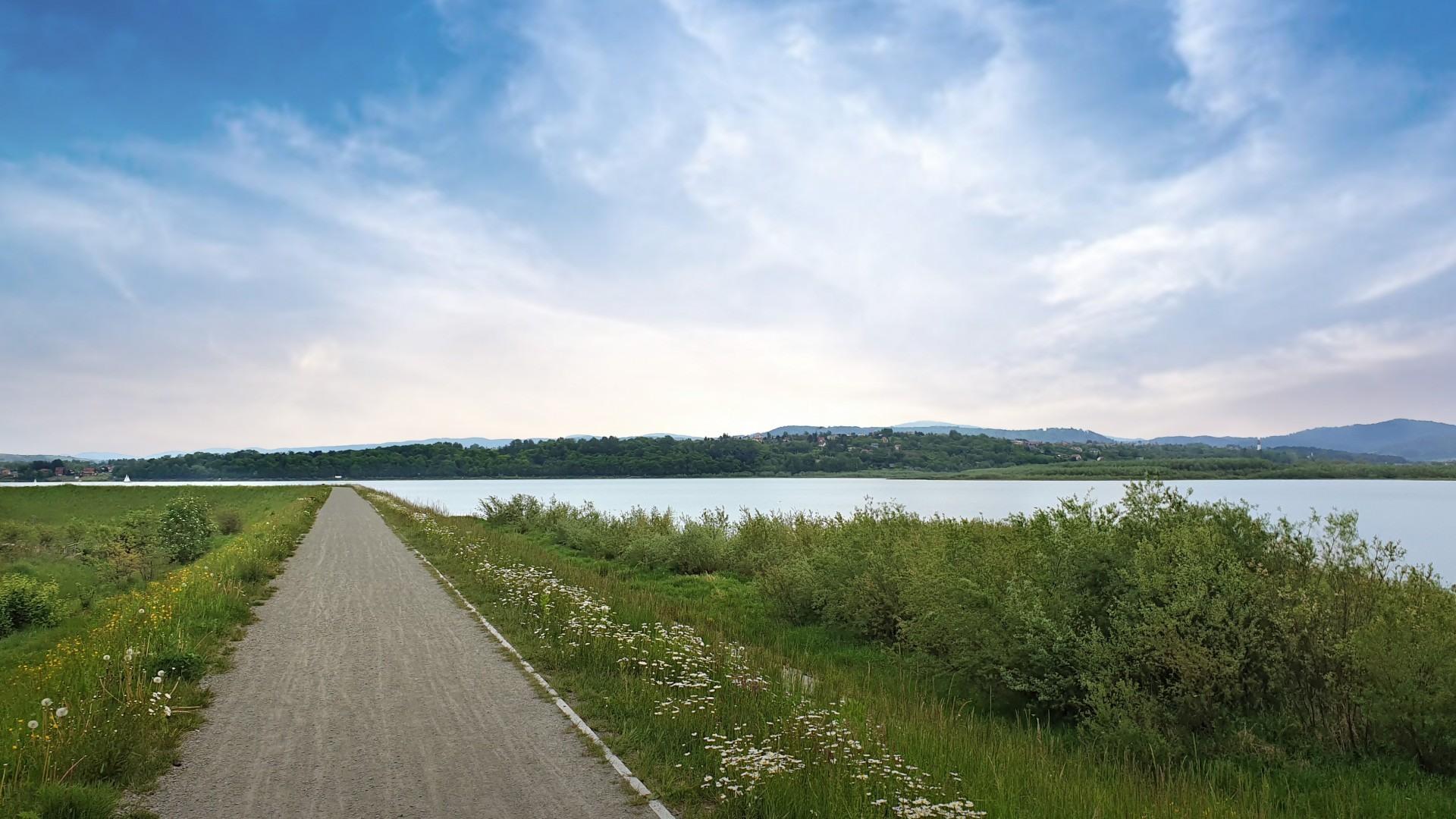 domki nad jeziorem żywieckim Rozmaryn, lokalne atrakcje, ścieżki rowerowe